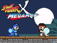 Portada oficial de Street Fighter x Mega Man para PC