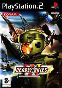 Portada oficial de Deadly Skies 3 para PS2