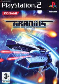 Portada oficial de Gradius V para PS2