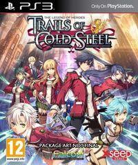 Portada oficial de The Legend of Heroes: Trails of Cold Steel para PS3