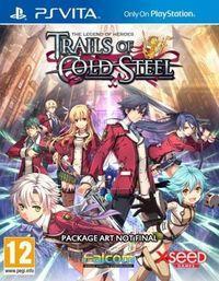 Portada oficial de The Legend of Heroes: Trails of Cold Steel para PSVITA