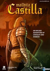 Portada oficial de Maldita Castilla para PC