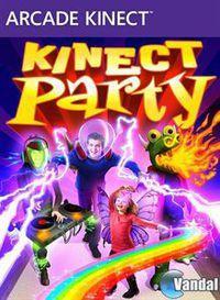 Portada oficial de Kinect Party XBLA para Xbox 360