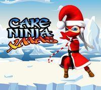 Portada oficial de Cake Ninja: XMAS DSiW para NDS