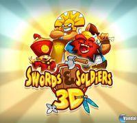 Portada oficial de Swords & Soldiers 3D eShop para Nintendo 3DS
