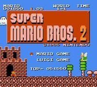 Portada oficial de Super Mario Bros.: The Lost Levels CV para Nintendo 3DS