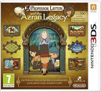 Portada oficial de El profesor Layton y el legado de los ashalanti para Nintendo 3DS