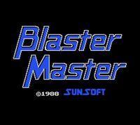 Portada oficial de Blaster Master CV para Nintendo 3DS
