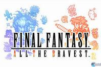Portada oficial de Final Fantasy: All The Bravest para iPhone