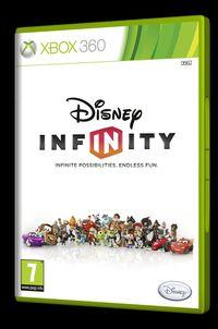 Portada oficial de Disney Infinity para Xbox 360