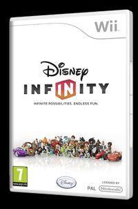 Portada oficial de Disney Infinity para Wii