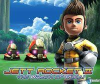 Portada oficial de Jett Rocket II - The Wrath of Taikai eShop para Nintendo 3DS