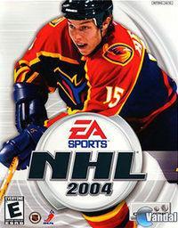 Portada oficial de NHL 2004 para PS2