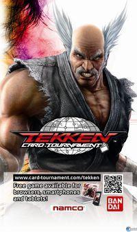 Portada oficial de Tekken Card Tournament para PC
