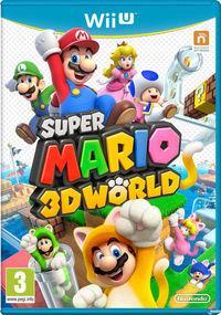 Portada oficial de Super Mario 3D World para Wii U