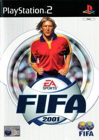 Portada oficial de Fifa 2001 para PS2