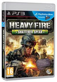 Portada oficial de Heavy Fire: Shattered Spear PSN para PS3