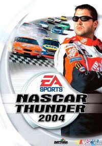 Portada oficial de Nascar Thunder 2004 para PS2
