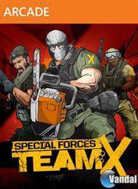 Portada oficial de Special Forces: Team X para Xbox 360