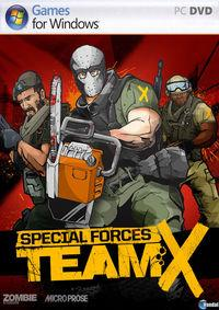 Portada oficial de Special Forces: Team X para PC