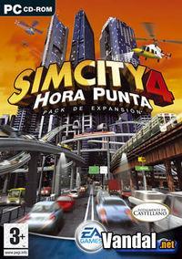 Portada oficial de Sim City 4 Hora Punta para PC