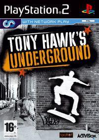 Portada oficial de Tony Hawk Underground para PS2