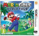 Portada oficial de de Mario Golf: World Tour para Nintendo 3DS