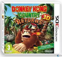 Portada oficial de Donkey Kong Country Returns 3D para Nintendo 3DS