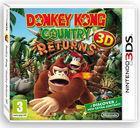 Portada oficial de de Donkey Kong Country Returns 3D para Nintendo 3DS