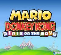 Portada oficial de Mario and Donkey Kong: Minis on the Move eShop para Nintendo 3DS