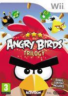 Portada oficial de de Angry Birds Trilogy para Wii