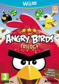 Portada oficial de Angry Birds Trilogy para Wii U