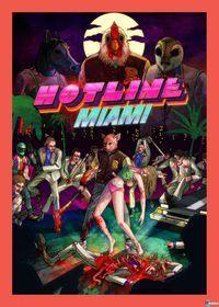 Portada oficial de Hotline Miami para PSVITA