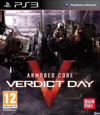 Portada oficial de Armored Core: Verdict Day para PS3