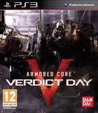 Portada oficial de de Armored Core: Verdict Day para PS3