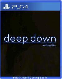 Portada oficial de Deep Down para PS4