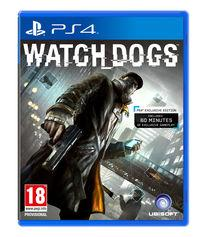 Portada oficial de Watch Dogs para PS4