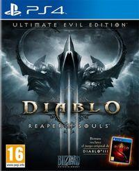 Portada oficial de Diablo III: Reaper of Souls – Ultimate Evil Edition para PS4