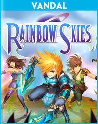 Portada oficial de Rainbow Skies PSN para PSVITA