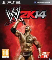 Portada oficial de WWE 2K14 para PS3