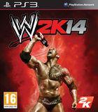 Portada oficial de de WWE 2K14 para PS3