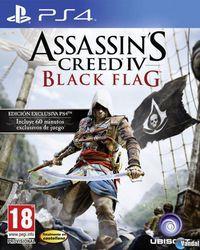 Portada oficial de Assassin's Creed IV: Black Flag para PS4