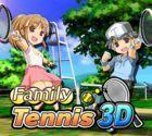 Portada oficial de de Family Tennis 3D eShop para Nintendo 3DS