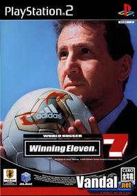 Portada oficial de World Soccer Winning Eleven 7 para PS2