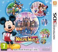 Portada oficial de Disney Magical World para Nintendo 3DS