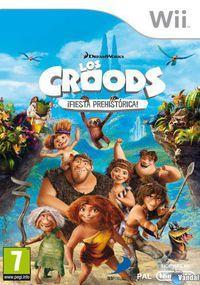 Portada oficial de Los Croods: Fiesta Prehistórica para Wii
