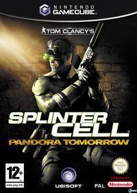 Portada oficial de Splinter Cell: Pandora Tomorrow para GameCube