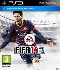 Portada oficial de FIFA 14 para PS3