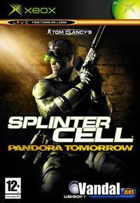 Portada oficial de Splinter Cell: Pandora Tomorrow para Xbox