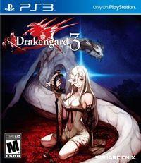 Portada oficial de Drakengard 3 para PS3